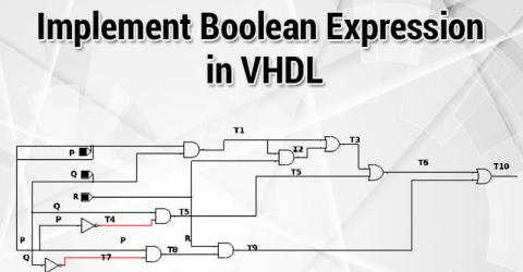 Design a simple Boolean Logic based IC using VHDL on ModelSim