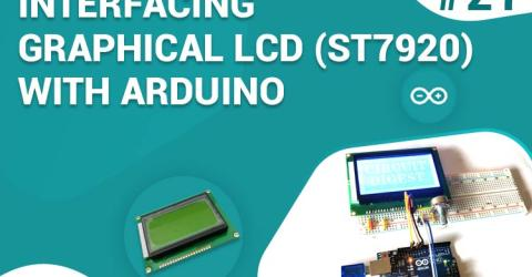 Interfacing Graphical LCD with Arduino