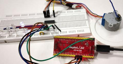 ARM7-LPC2148 Stepper Motor Control Tutorial