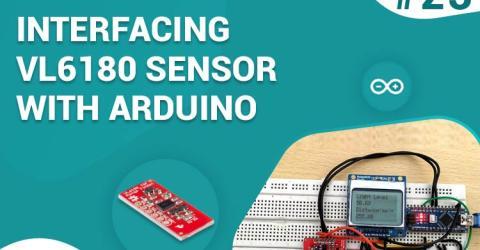 Interfacing VL6180 ToF Range Finder Sensor with Arduino