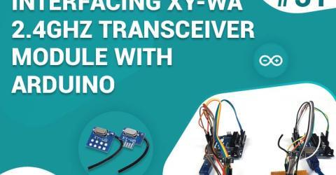 Wireless Communication between Two Arduino using XY-WA Radio Frequency Module