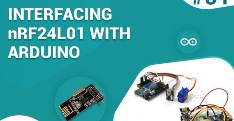 Arduino NRF24L01 Tutorial to Control Servo Motor