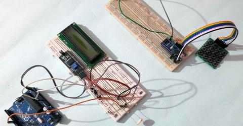 Li-Fi based Text Communication between Multiple Arduino