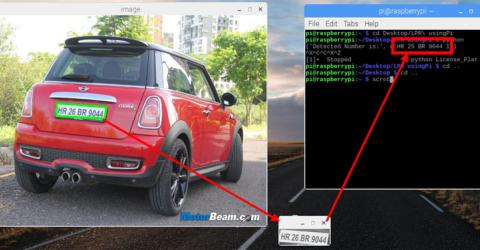 License Plate Recognition using Raspberry Pi and OpenCV