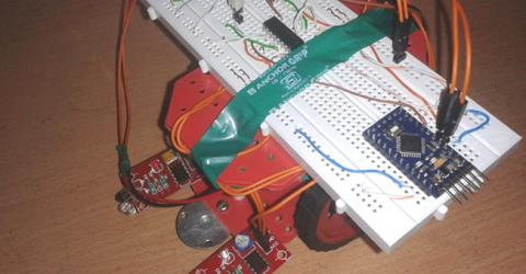 Arduino Line Follower Robot Project with Code and Circuit Diagram