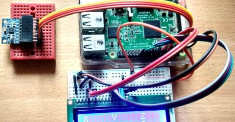 MPU6050 Gyro Sensor Interfacing with Raspberry Pi