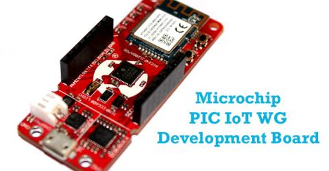 Microchip PIC IoT WG Development Board