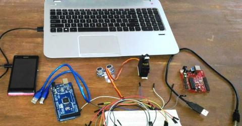 Arduino Radar System using Processing and Ultrasonic Sensor