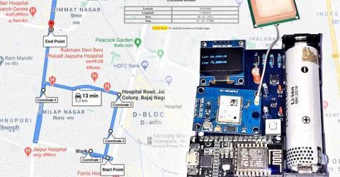 IoT Based GPS Location Tracker using NodeMCU