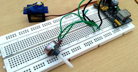 Programming ATtiny13 with Arduino Uno to control a Servo Motor