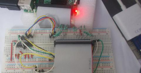 Interfacing ADC0804 with Raspberry-Pi