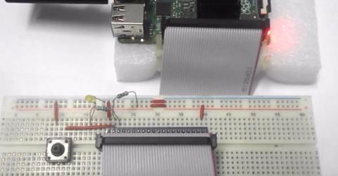 Button Interface to Raspberry Pi