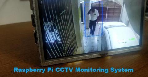 Raspberry Pi CCTV Monitoring System