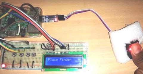 Raspberry Pi Fingerprint Sensor Interfacing Tutorial