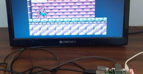 DIY Raspberry Pi Gaming Console using RetroPie