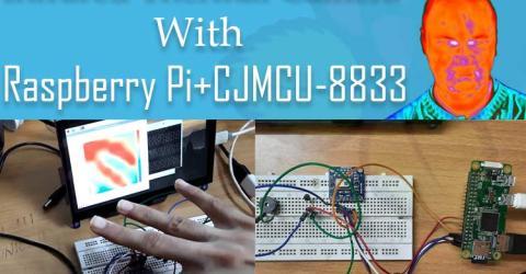 Raspberry Pi Infrared Thermal Camera
