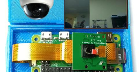 Raspberry Pi Zero W Surveillance Camera using MotionEye OS