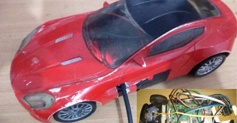 Remote Controlled Car Using Raspberry Pi and Bluetooth