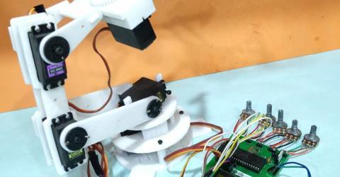 Robotic Arm Control using PIC Microcontroller