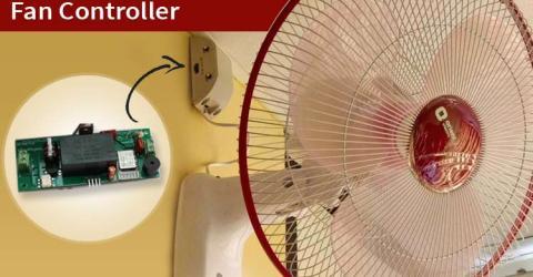 IoT Based Fan Speed Controller using ESP8266