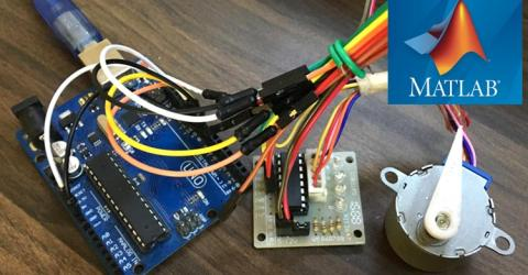 Stepper Motor Control using MATLAB and Arduino