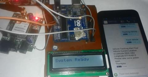 Vehicle Tracking System using GPS and Arduino