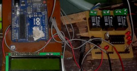 Water Level Indicator and Controller Project using Arduino