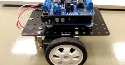 Arduino based Automatic Floor Cleaning Robot using Ultrasonic Sensor
