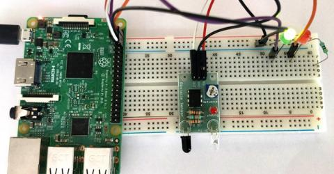 Add Infrared Sensor to Raspberry Pi GPIO