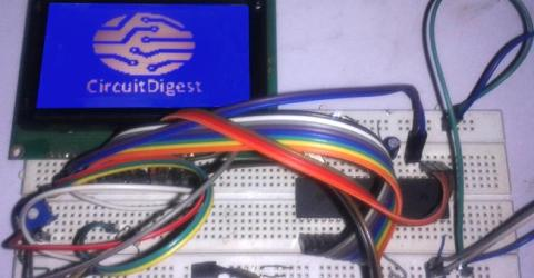 Displaying an Image on Graphical LCD using 8051 Microcontroller