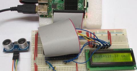 Measure Distance using Raspberry Pi and HCSR04 Ultrasonic Sensor