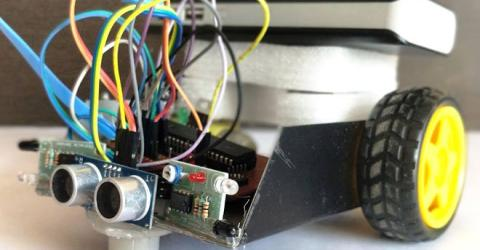 Obstacle Avoiding Robot using PIC Microcontroller