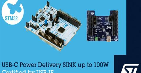 STMicroelectronics 100W USB PD Development Board