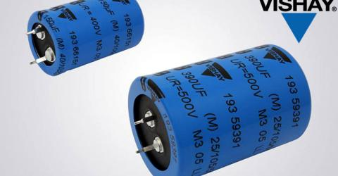 193 PUR-SI Miniature Snap-in Power Aluminum Electrolytic Capacitors