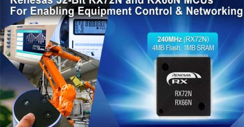 RX72N and RX66N 32-bit Microcontrollers