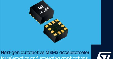 STMicroelectronics' AIS2IH Three Axis Linear Accelerometer