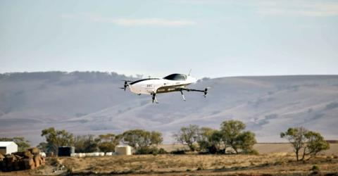 Alauda Mk3 Electric Flying Race Car Airspeeder