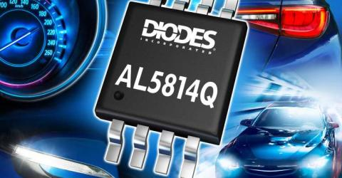 Automotive-Compliant Linear LED Driver-Controller Offers Low Dropout and Enhanced Dimming