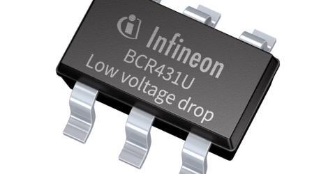 Infineon's BCR431U LED Driver IC