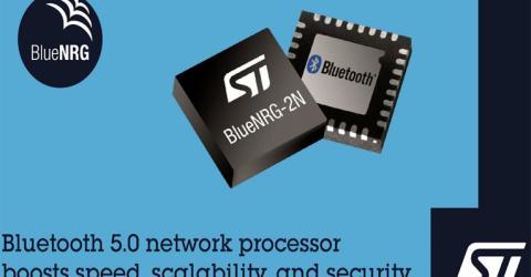 BlueNRG-2N Bluetooth 5.0-Certified Network Processor