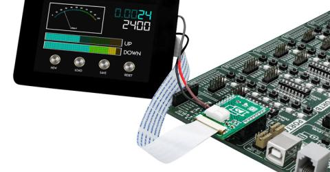 4D Systems Collaborates with MikroElektronika on new Click Board for 8-bit MCU Applications