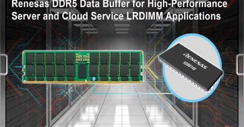 5DB0148 DDR5 Data Buffer from Renesas