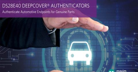 DS28E40 DeepCover Automotive Secure Authenticator