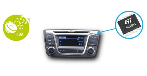Digital-input automotive audio amplifiers