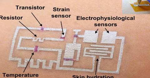 'Drawn-on-Skin' Electronics