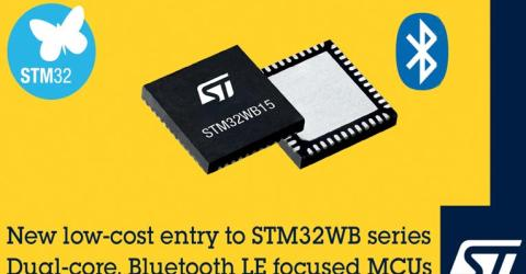 STMicroelectronics' New STM32WB Series Dual-Core MCUs