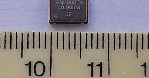 EQXO-75UIE Extended Industrial Temp Oscillator