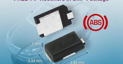 1A and 2 A FRED Pt Ultrafast Rectifiers in SMP Package Increase Power Density, Improve Efficiency