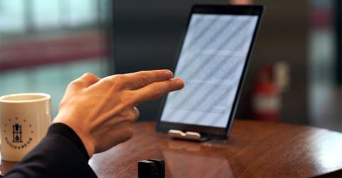 GLAMOS - Virtual Touchscreen Device