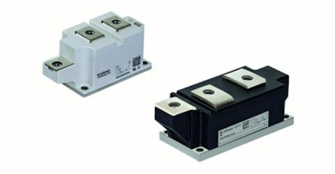 High Performance 50mm and 60mm Thyristor/Diode Modules